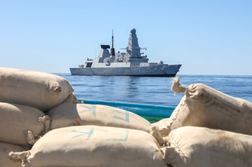 HMS Defender and drugs haul